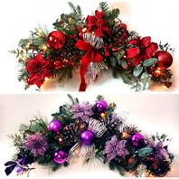크리스마스 갈란드(65~70cm)